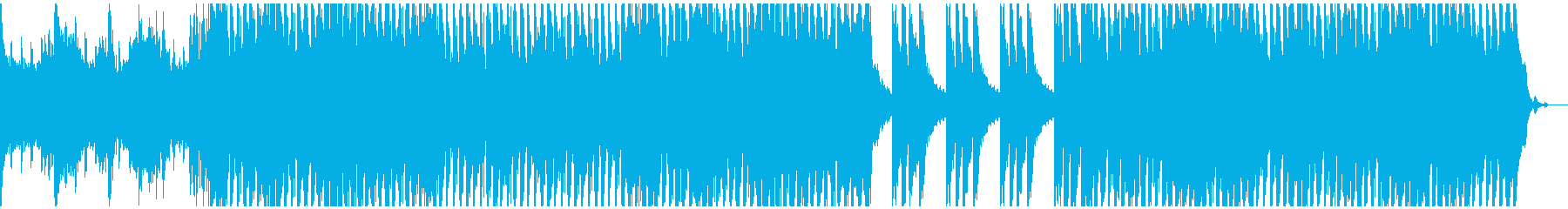 夏をイメージさせるメロディックなポップスの再生済みの波形
