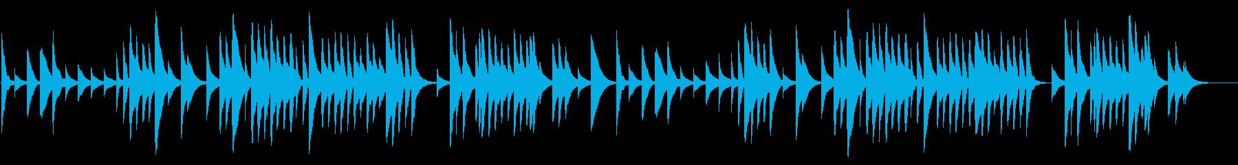 G線上のアリア 18弁オルゴールの再生済みの波形