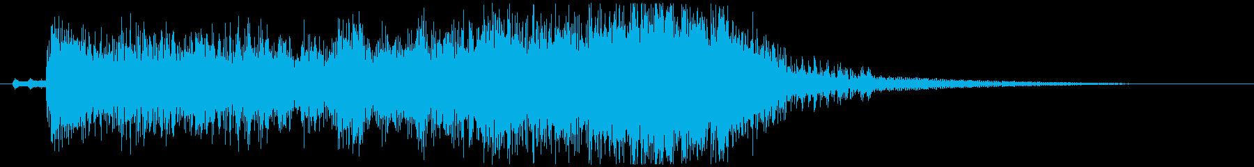 発表、登場、クイズなどのパワージングル!の再生済みの波形