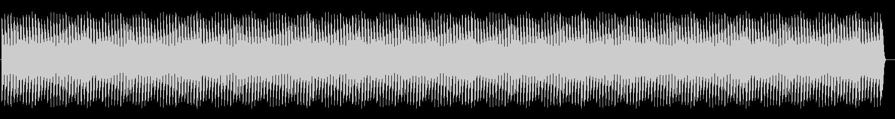 【無限音階】上がり続ける音 緊張感・不安の未再生の波形