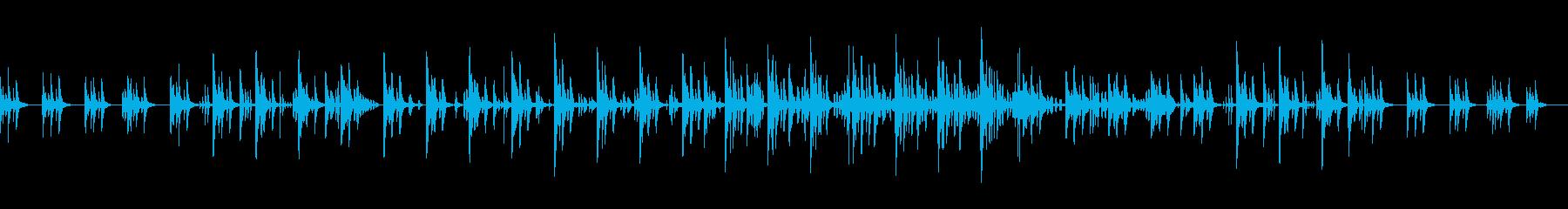企んでいる時のBGM・シンプルverの再生済みの波形