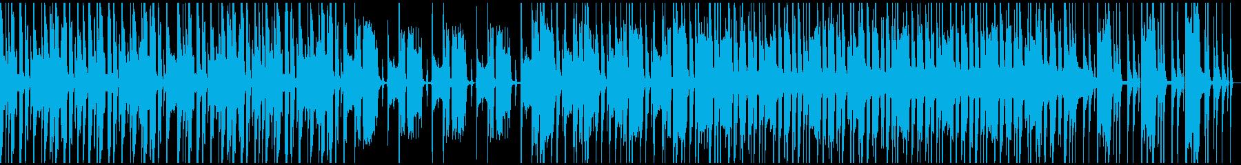 ループ仕様、軽快、コミカル、シンセの再生済みの波形