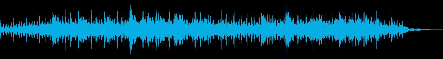 映像・ドキュメンタリーに最適なBGMの再生済みの波形