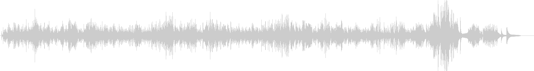 【ノクターン第2番】ピアノ・ショパンの未再生の波形