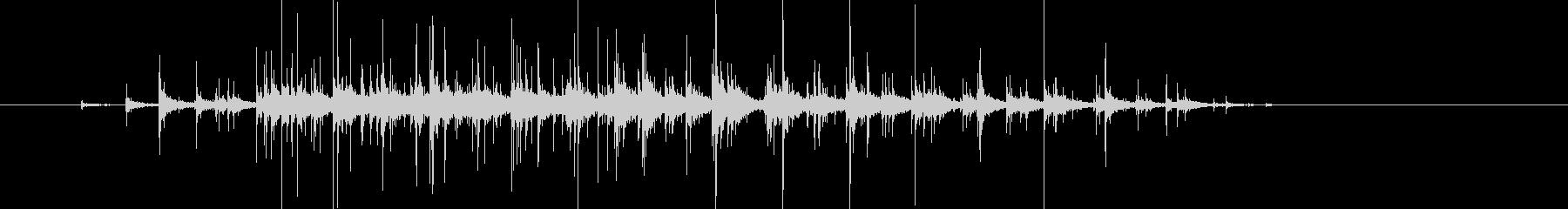 ささやかな拍手 録音 Clappingの未再生の波形