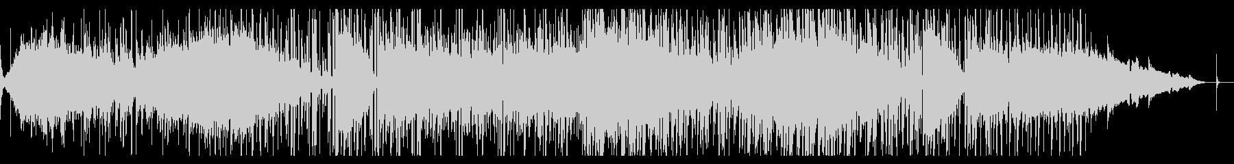 グリッジなシネマティックアンビエントの未再生の波形