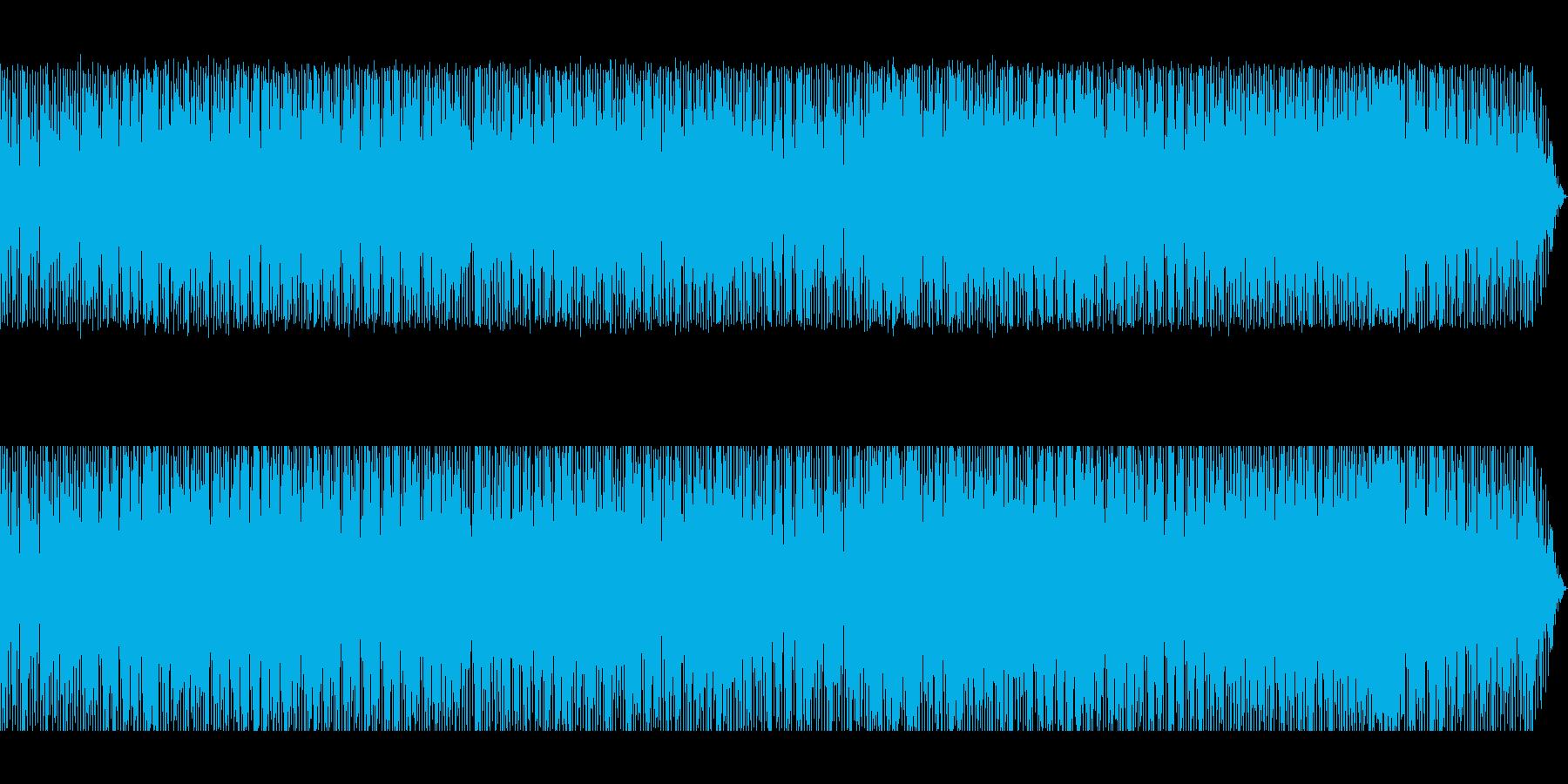 虚無僧の尺八をイメージしたヒップホップの再生済みの波形