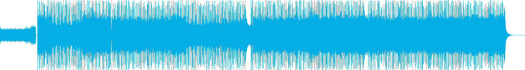 フュージョン、ファンク、ロック、無...の再生済みの波形