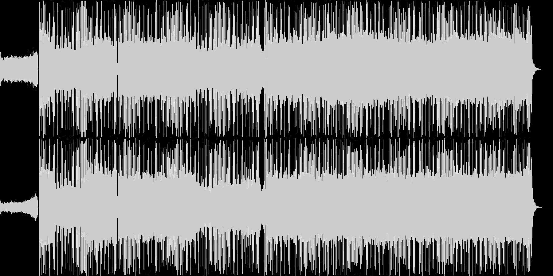 フュージョン、ファンク、ロック、無...の未再生の波形