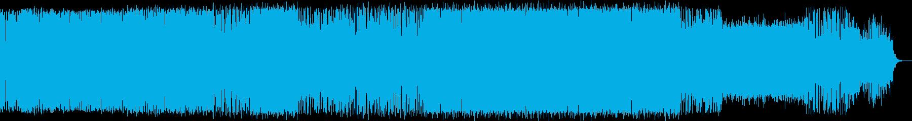 深海イメージ曲(メロディ・ソロなし)の再生済みの波形