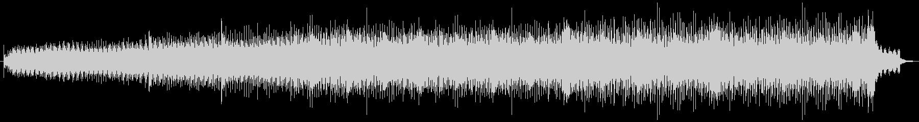ミニマルなシンセ音が印象的なBGMの未再生の波形