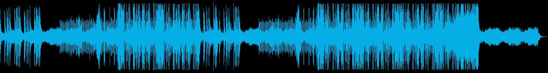 忍者と戦う和風歴史Lofiトラップビートの再生済みの波形