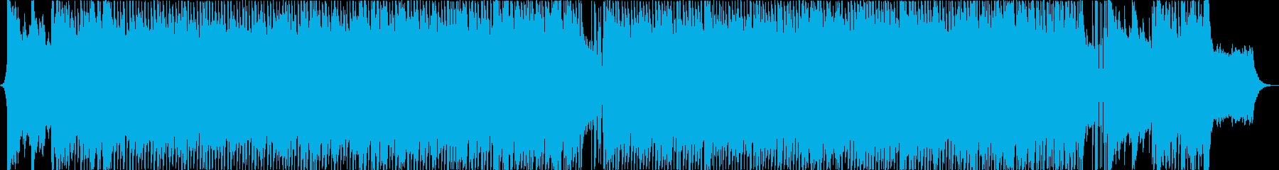 力強さを感じさせるピアノ主体のロックの再生済みの波形