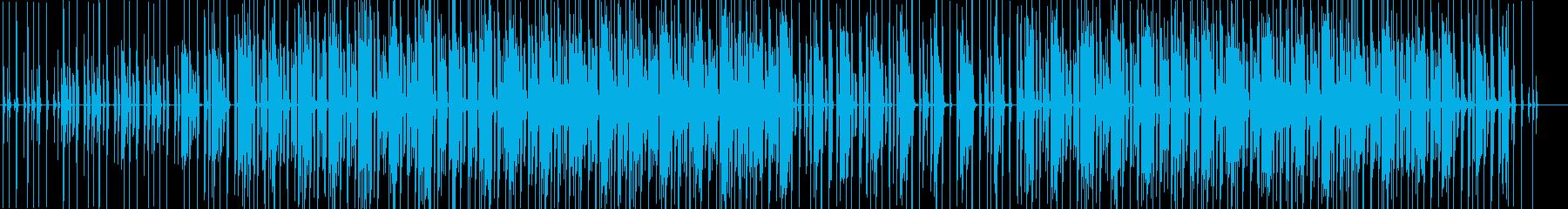 動画-ナチュラルでお洒落-BGM-木陰の再生済みの波形