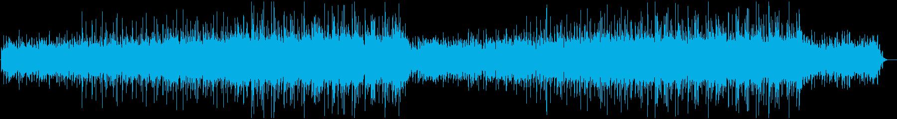 繊細で控えめな電子ドラムグルーブを...の再生済みの波形