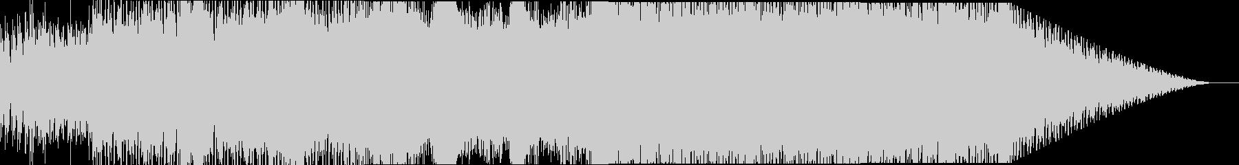浮遊感のあるミニマルなエレクトロニカの未再生の波形
