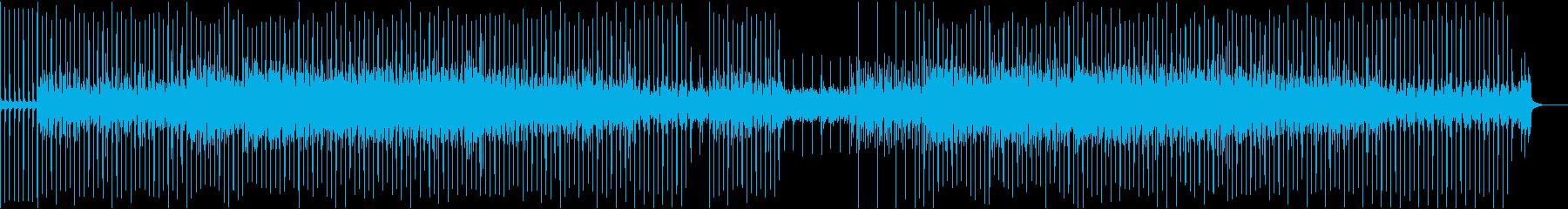 RPGのエンディング風なBGMの再生済みの波形