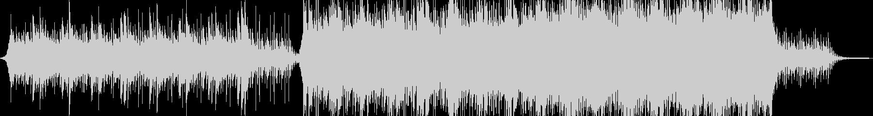 壮大なイメージのコーポレート向けBGMの未再生の波形
