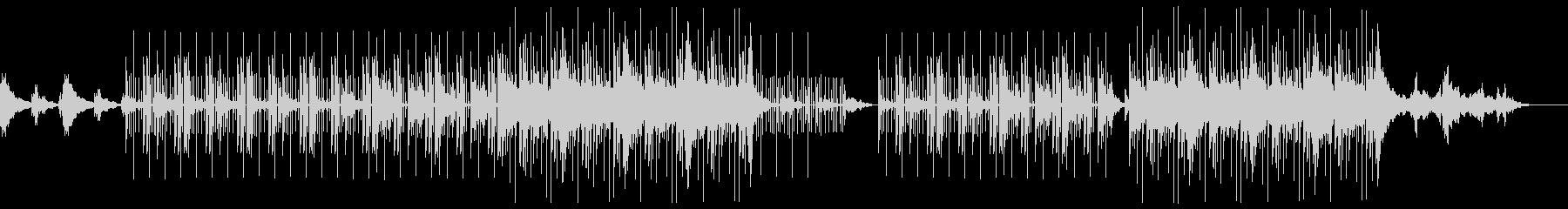 ダーク 空虚 トラップビートの未再生の波形