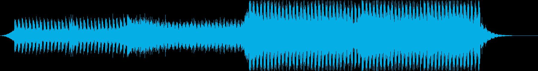 浮遊感のあるトランスの再生済みの波形