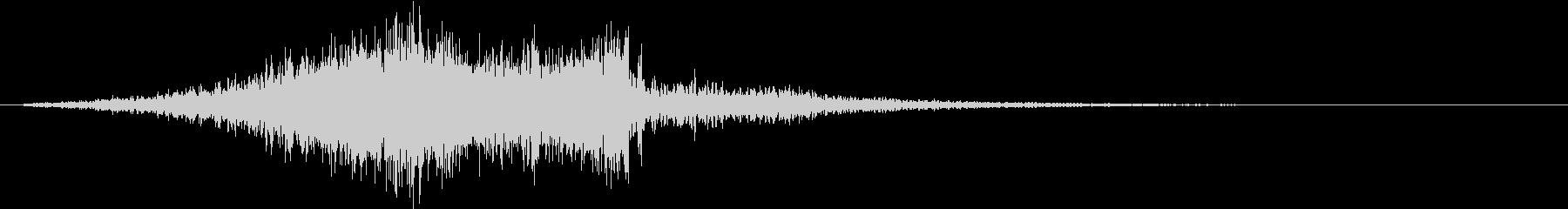 CINEMATIC タイトルロゴ_FXの未再生の波形