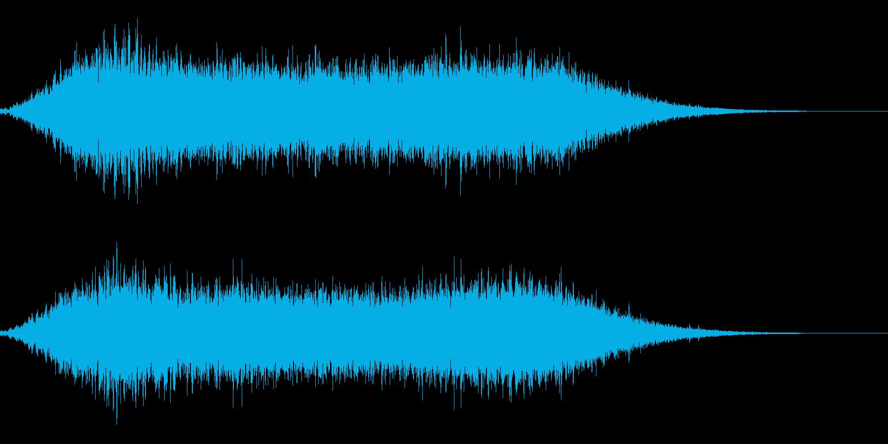 光が差す水中 ポコポコ アクアリウム の再生済みの波形