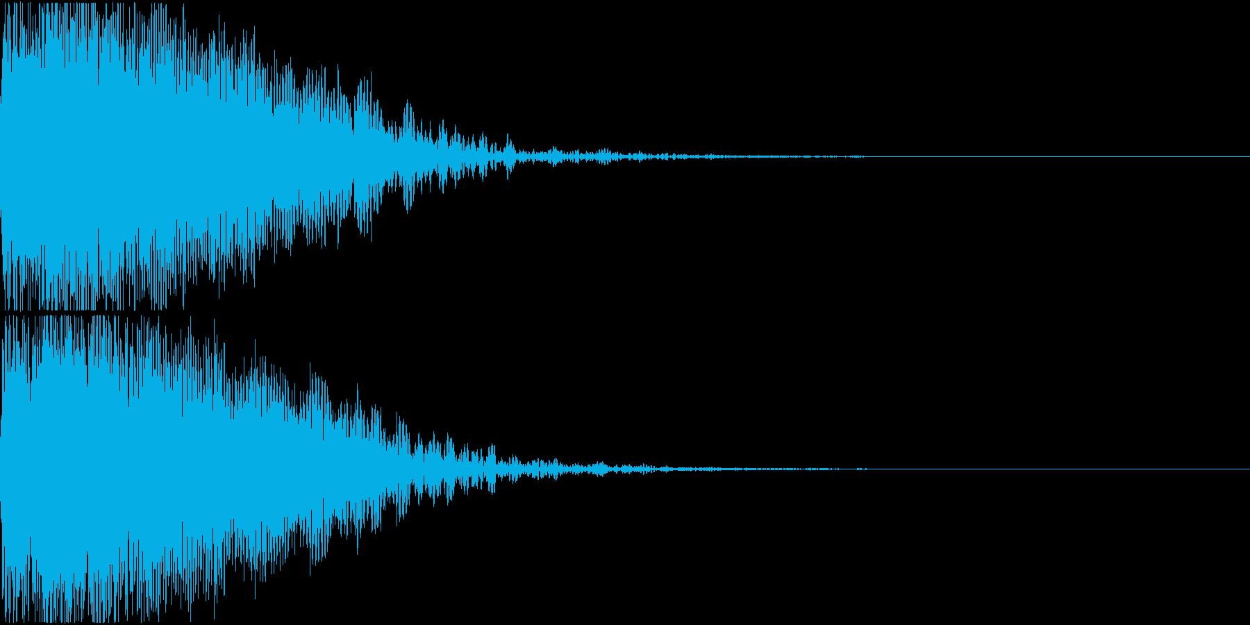 ロボット 合体 ガシーン キュイン 13の再生済みの波形