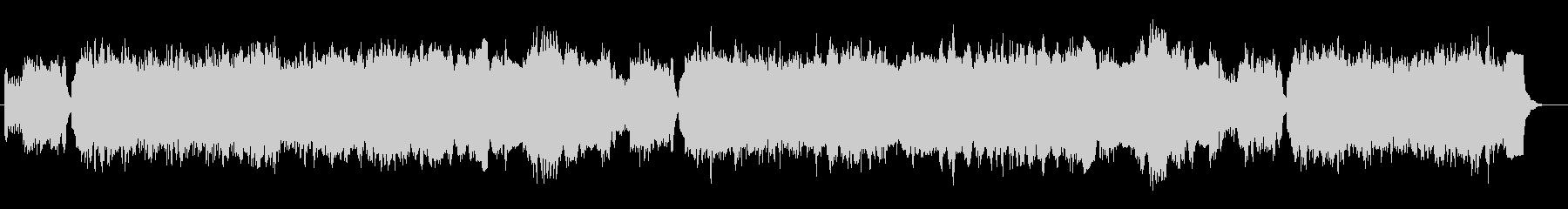 バッハ ブランデンブルク協奏曲Pオルガンの未再生の波形