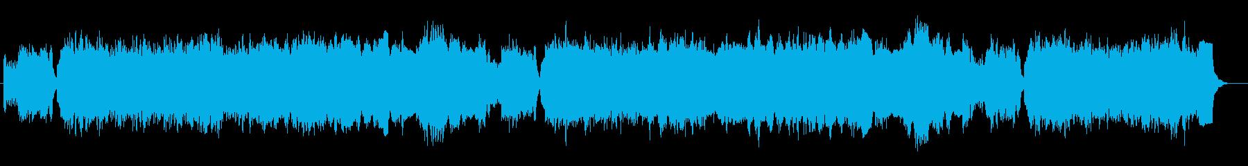 バッハ ブランデンブルク協奏曲Pオルガンの再生済みの波形