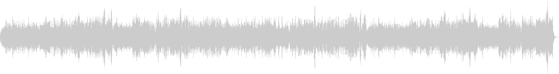 バッハ クラシック パイプオルガンRevの未再生の波形