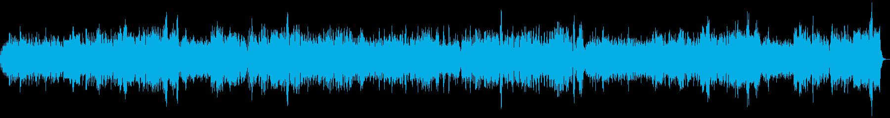 バッハ クラシック パイプオルガンRevの再生済みの波形