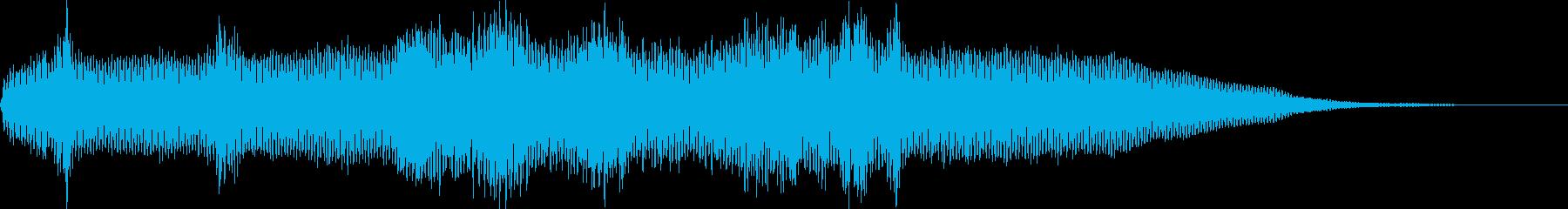 【ホラーゲーム】 シーン 気味が悪い場所の再生済みの波形