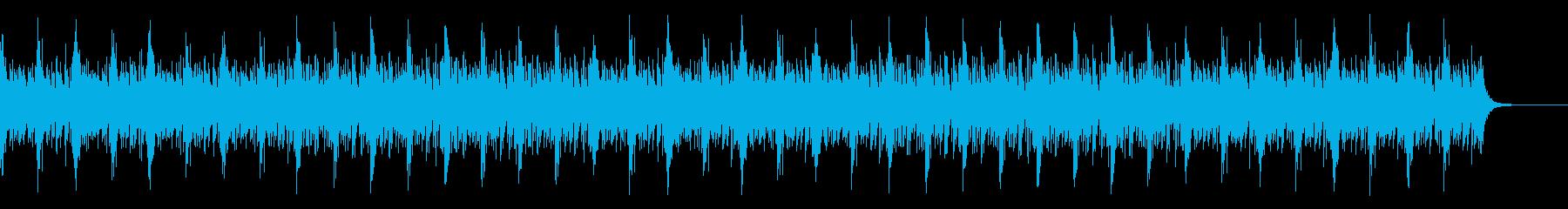 和風・お祭り・三味線・エキサイティングの再生済みの波形