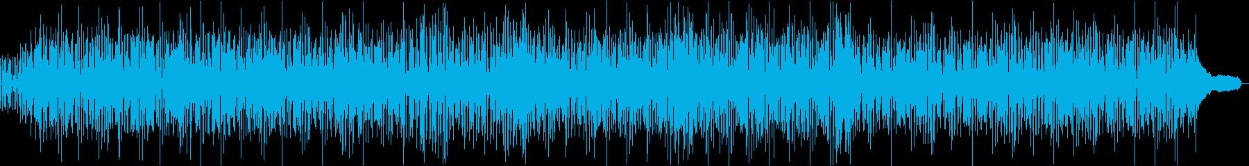 トロピカルでかわいいボサノバ風ポップスの再生済みの波形