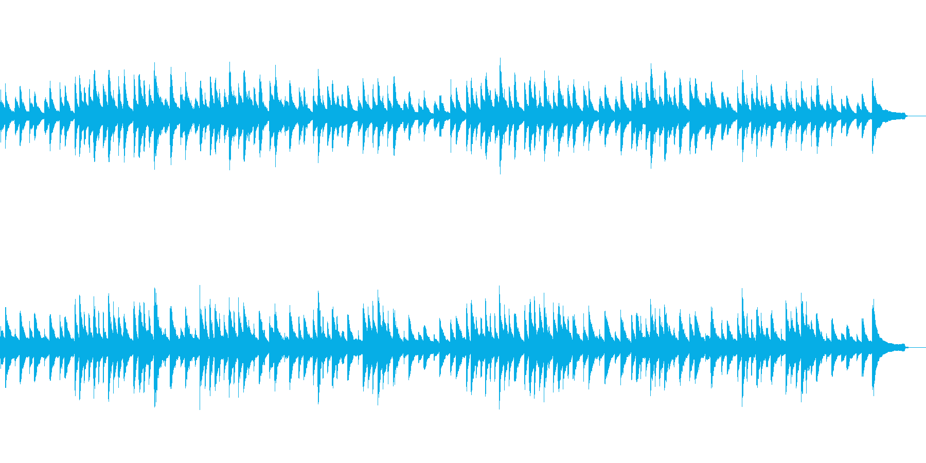 ジムノペディ第3番【ピアノ名曲】の再生済みの波形