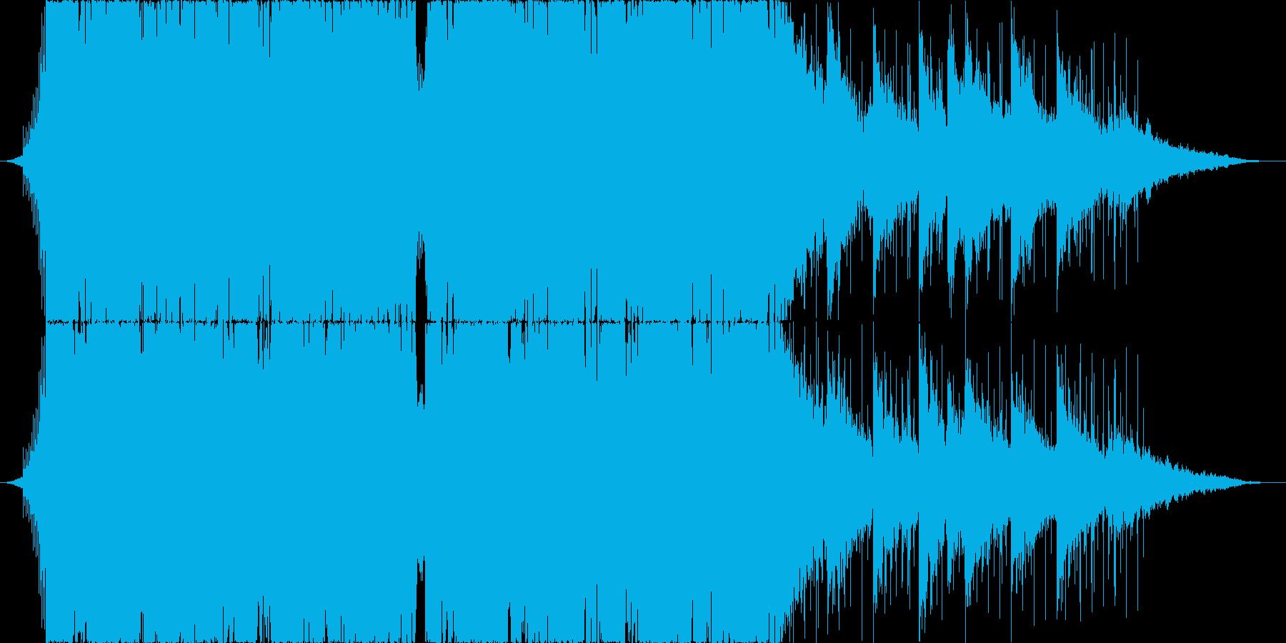Liquid Dubstep新SHORTの再生済みの波形