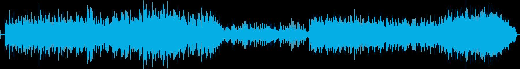 天空の城備中高松城のかっこいいテーマ曲の再生済みの波形