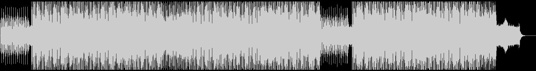 スペーシーでファンキーなインストの未再生の波形