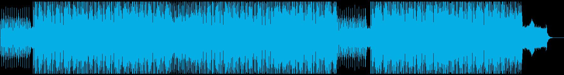 スペーシーでファンキーなインストの再生済みの波形