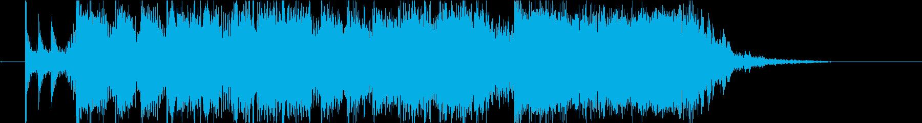 アイキャッチ向け10秒ロック・前半の再生済みの波形