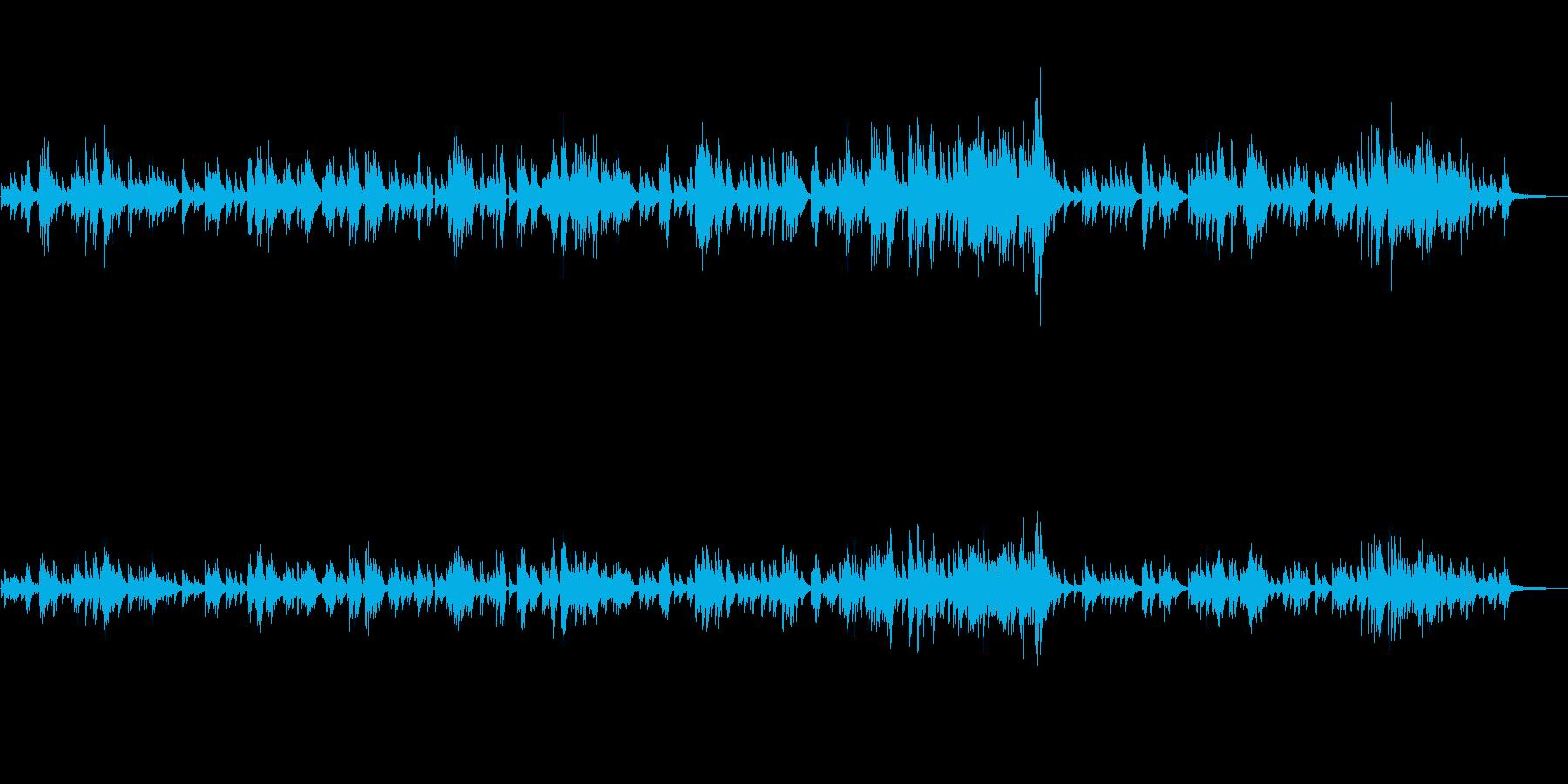 生ピアノソロ・ゆったりしたジャズピアノの再生済みの波形