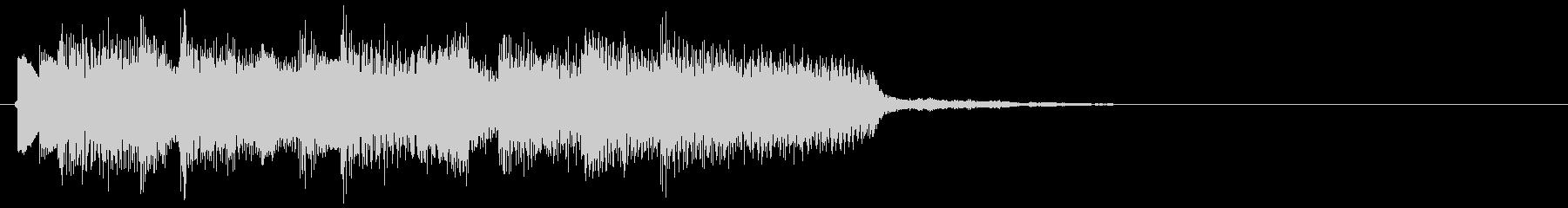 アイドルをイメージしたジングル 4小節Aの未再生の波形