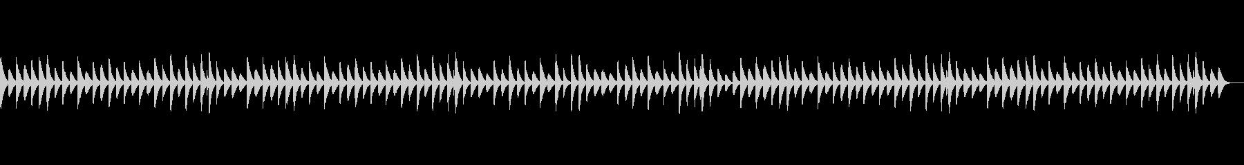 可愛らしいほのぼのとした木琴BGMの未再生の波形