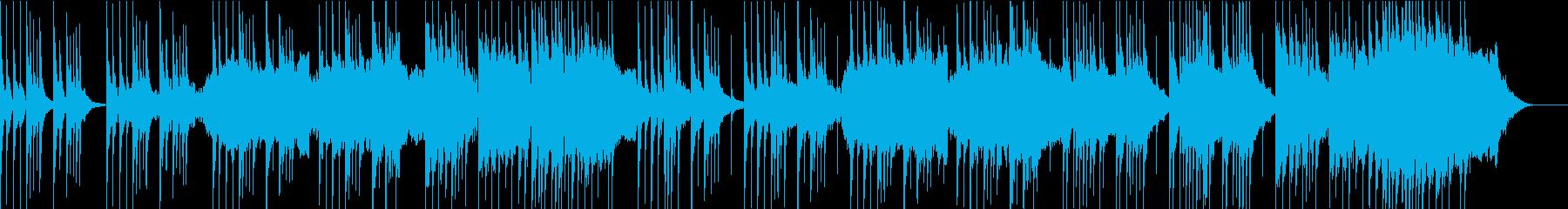 心が落ち着く癒しの和風BGMの再生済みの波形