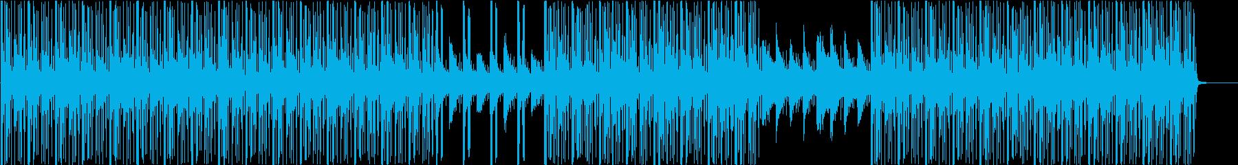 ゲームにも最適なエスニック系BGMの再生済みの波形