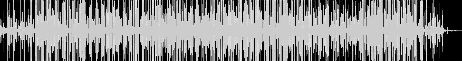 無感情なイメージのエクスペリメンタルの未再生の波形