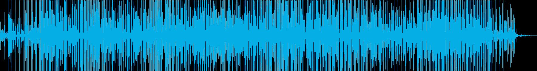無感情なイメージのエクスペリメンタルの再生済みの波形