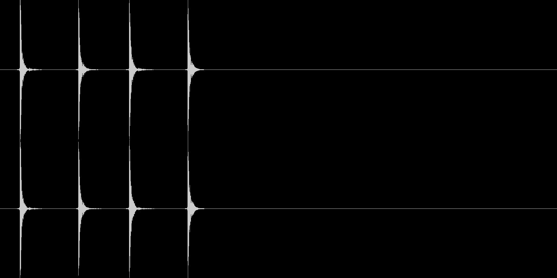 カチカチ_マウス_クリック_02の未再生の波形