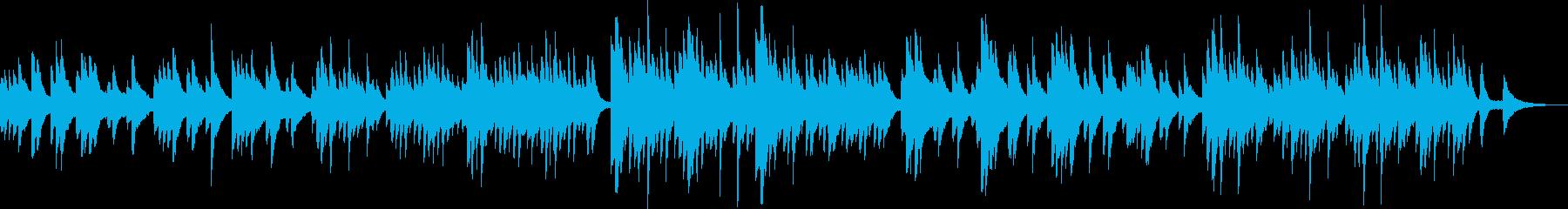 優しくて美しいピアノ曲(感動・切ない)の再生済みの波形