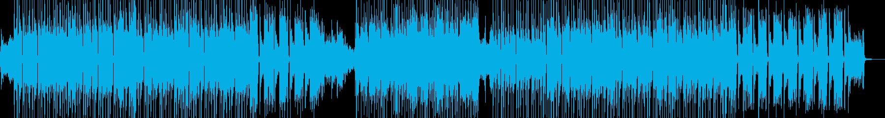 琴・三味線 渋くてクールなビート 長尺の再生済みの波形